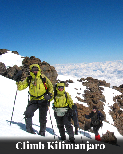 Climb Kilimanjaro - Tusker Trail