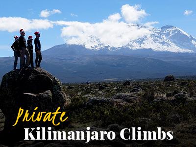 Private Climb Kilimanjaro - Tusker Trail