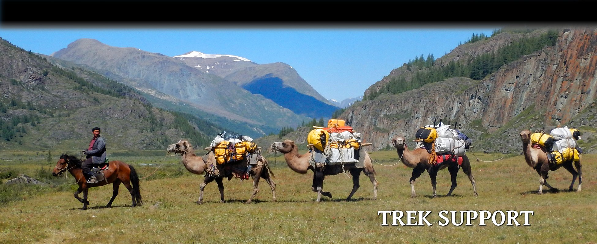 Tusker - About Us Support on your trek