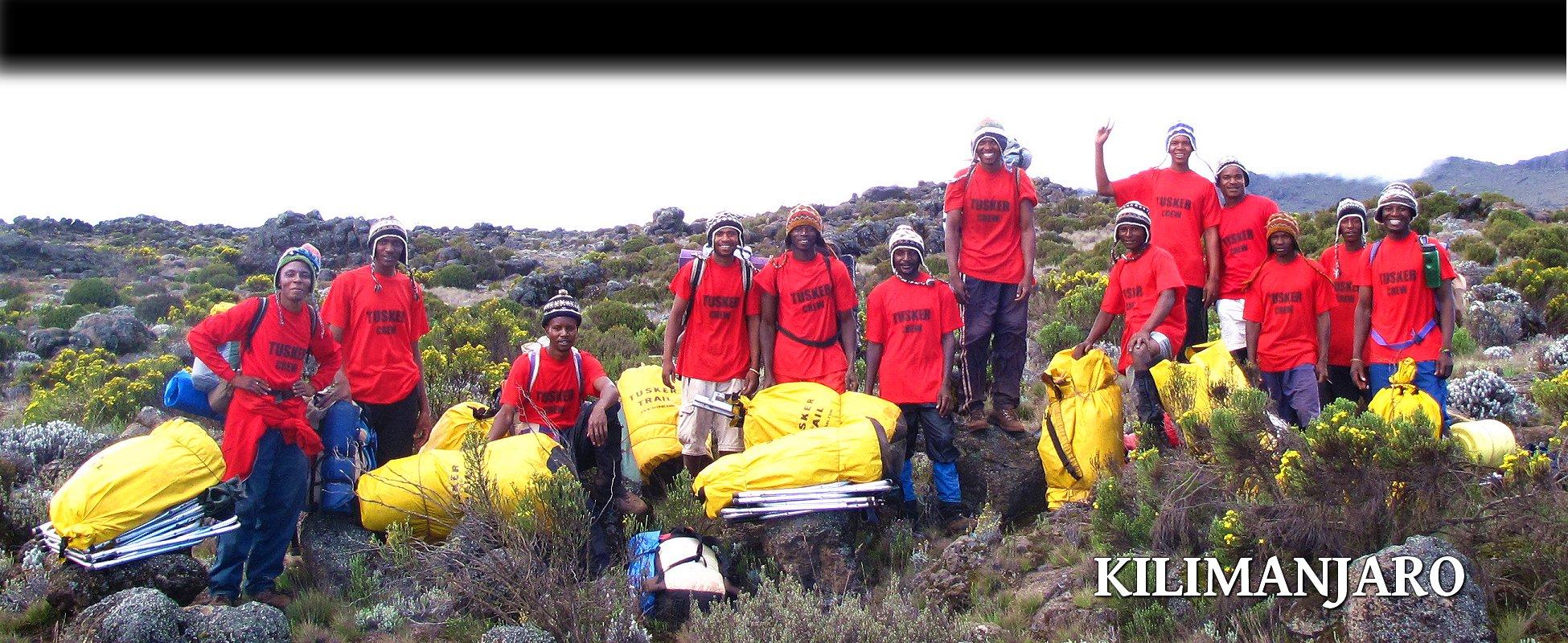 Tusker - Kilimanjaro Porters